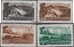 Sowjetunion 1268-1271 (completa Edizione) MNH 1948 Mining - Nuovi