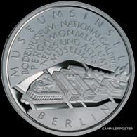 FRD (FR.Germany) Jägernr: 495 2002 A Stgl./unzirkuliert Silver Stgl./unzirkuliert 2002 10 Euro Museumsinsel Berlin - Germany