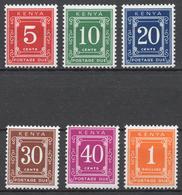 Kenya 1967 Postage Due Mi# 1-6** - Kenya (1963-...)
