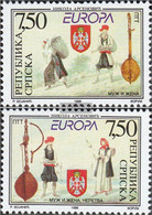 Serbian Republic Bos.-h 105-106 (complete Issue) Unmounted Mint / Never Hinged 1998 National Celebrations And Holidays - Bosnia And Herzegovina
