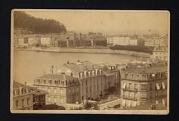 SAN SEBASTIÁN Donostia AYUNTAMIENTO Pays Basque ESPANA Espagne. Photographe: F.BERILLON Bayonne 1880s OLD PHOTO - Photos
