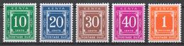Kenya 1969-70 Postage Due Mi# 8-12** - Kenya (1963-...)