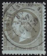 France    .      Y&T    .    19        .     O     .      Oblitéré    .    /    .     Cancelled - 1862 Napoléon III.