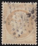 France    .      Y&T    .    21       .     O     .      Oblitéré    .    /    .     Cancelled - 1862 Napoléon III