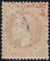 France    .      Y&T    .    28       .     O     .      Oblitéré    .    /    .     Cancelled - 1863-1870 Napoléon III Lauré