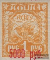 Russland 171b Con Fold 1922 Stampa Edizione - 1917-1923 Repubblica & Repubblica Soviética