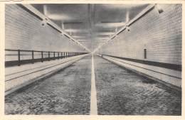 """ANTWERPEN - Binnenzicht Den Tunnel Voor Voertuigen, Onder De Schelde """"Philora - Natrlumverlichting"""" - Antwerpen"""
