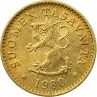 Monnaie, Finlande, 10 Pennia, 1980, TTB+, Aluminum-Bronze, KM:46 - Finlande