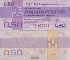 DDR Rosenbg: 367b, Forumscheck To Acquisition Of Foreign Were Uncirculated 1979 50 Pfennig - [ 6] 1949-1990 : GDR - German Dem. Rep.
