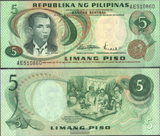 Philippines Pick-number: 148a Uncirculated 5 Piso - Philippines