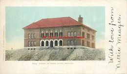 281401-Montana, Butte, School Of Mines, Detroit Photographic Co, 1903, No 6914 - Butte