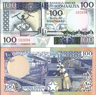 Somalia Pick-No.: 35c Nuevo 1988 100 Shillings - Somalië