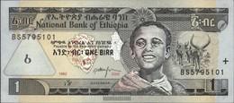 Äthiopien Pick-Nr: 46b Bankfrisch 2000 1 Birr - Aethiopien