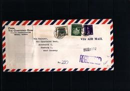 Taiwan Interesting Airmail Registered  Letter - 1945-... Republik China