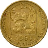 Monnaie, Tchécoslovaquie, 20 Haleru, 1984, TTB, Nickel-brass, KM:74 - Czechoslovakia