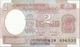 India Pick-number: 79i Uncirculated 1985 2 Rupees - India