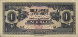 Malaysia Pick-number: M5b Uncirculated 1942 1 US Dollars - Malaysia