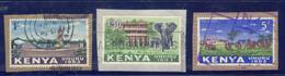 Kenya 1963 Definitives Up To 5 Shilling - Kenya (1963-...)