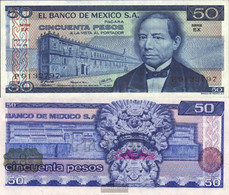Mexico Pick-number: 65c Uncirculated 1978 50 Pesos - Mexico