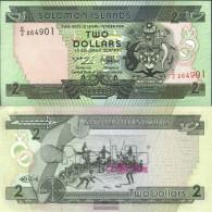 Salomoninseln Pick-number: 18 Uncirculated 1997 2 Dollars - Salomons