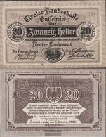 Austria Catalog-number.: 70Tyrol (S143) Landeskasse Tyrol Used (III) 1920 20 Bright - Austria