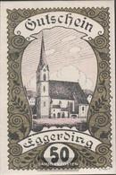 Eggerding Notgeld The City Eggerding Uncirculated 1920 50 Bright - Austria