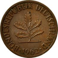 Monnaie, République Fédérale Allemande, 2 Pfennig, 1962, Stuttgart, TTB - [ 7] 1949-… : FRG - Fed. Rep. Germany