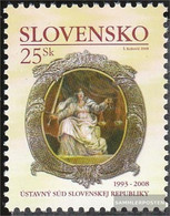 Slovakia 576 (complete Issue) Unmounted Mint / Never Hinged 2008 Court - Slovakia