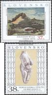Slovakia 544-545 (complete Issue) Unmounted Mint / Never Hinged 2006 Art - Slovakia