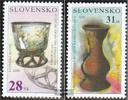Slovakia 540-541 (complete.issue.) Unmounted Mint / Never Hinged 2006 Museum - Slovakia