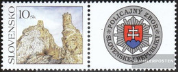 Slovakia 538Zf With Zierfeld (complete Issue) Unmounted Mint / Never Hinged 2006 Gruß - Slovakia