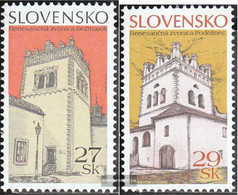 Slovakia 535-536 (complete Issue) Unmounted Mint / Never Hinged 2006 Home - Slovakia