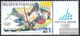 Slovakia 527Zf With Zierfeld (complete Issue) Unmounted Mint / Never Hinged 2006 Olympia - Slovakia