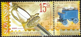 Slovakia 526Zf With Zierfeld (complete.issue.) Unmounted Mint / Never Hinged 2005 Philately - Slovakia