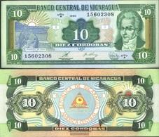 Nicaragua Pick-Nr: 175 Bankfrisch 1990 10 Córdobas - Nicaragua