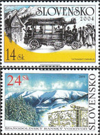 Slovakia 490-491 (complete.issue.) Unmounted Mint / Never Hinged 2004 Technical Monuments - Slovakia