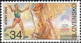 Slovakia 487 (complete.issue.) Unmounted Mint / Never Hinged 2004 Olympics Summer - Slovakia
