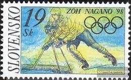 Slovakia 301 (complete Issue) Unmounted Mint / Never Hinged 1998 Olympia - Slovakia