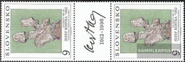 Slovakia 185ZS Between Steg Couple (complete.issue.) Unmounted Mint / Never Hinged 1993 Art - Slovakia