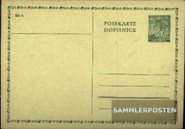 Bohemia And Moravia P1 Official Postcard Unused 1939 Linden Branch - Bohemia & Moravia