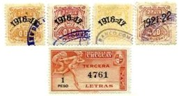 URUGUAY, Revenues, Used, F/VF - Uruguay