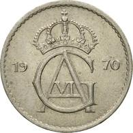 Monnaie, Suède, Gustaf VI, 50 Öre, 1970, TTB, Copper-nickel, KM:837 - Suède