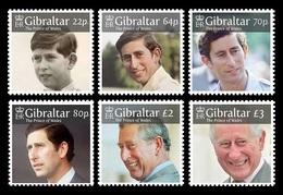Gibraltar 2018 Mih. 1879/84 Charles, Prince Of Wales MNH ** - Gibraltar