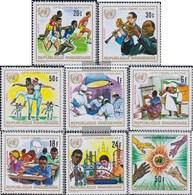 Ruanda 529A-536A (kompl.Ausg.) Postfrisch 1972 Jahr Gegen Rassendiskriminierung - Rwanda