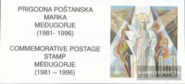 Bosnia - Croatian. Post Mostar 27 MH (complete Issue) Unmounted Mint / Never Hinged 1996 Medjugorje - Bosnia And Herzegovina