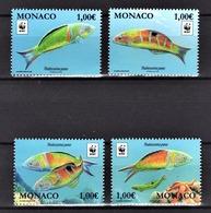 MONACO 2016 / SERIE / Y.T. N° 3056 / 3059  - WWF / NEUFS** - Monaco