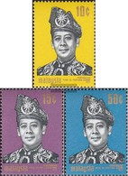 Malaysia 76-78 (complete Issue) Unmounted Mint / Never Hinged 1971 King Abdul Halim - Malaysia (1964-...)