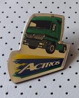 MERCEDES Actros Truck Pin Badge - Mercedes