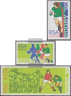 South Africa 956A-958A (complete Issue) Unmounted Mint / Never Hinged 1995 Rugby WM - Ungebraucht