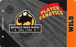 Buffalo Wild Wings - Las Vegas, NV - BLANK Pub / Casino Slot Card - Casino Cards
